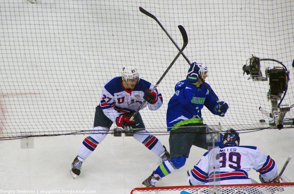 Sochi2014: Хоккей Словения — США