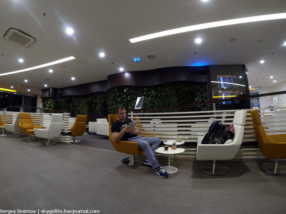Бизнес зал SkyTeam Lounge в аэропорту Ataturk, Стамбул