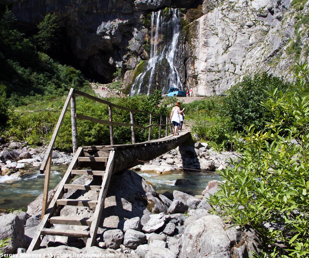 Один день в Абхазии. Гегский водопад.