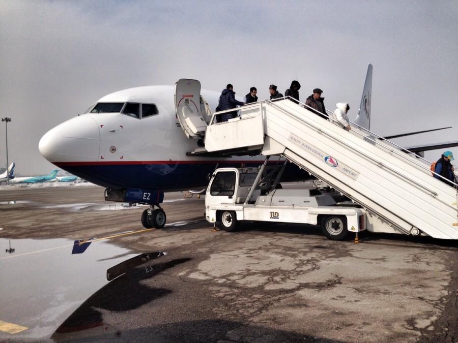 Полет из Сочи в Алматы на OrenAir