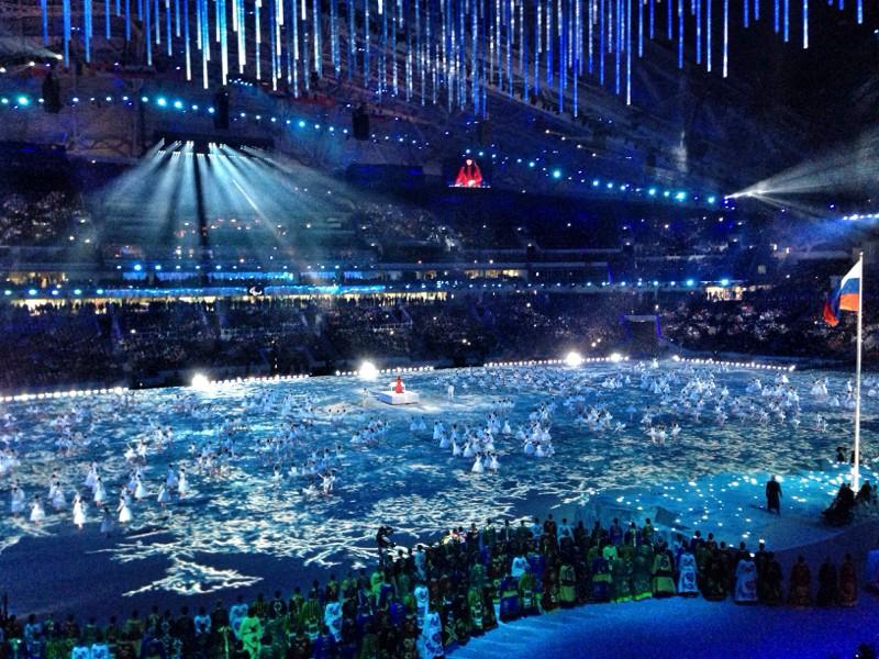 Путевые заметки: церемония открытия игр и дальше