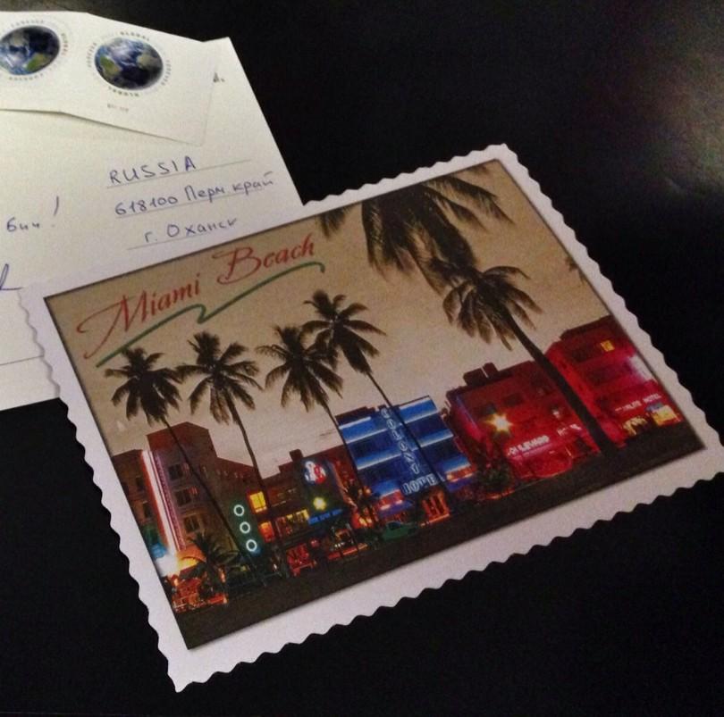 Открытки: Майами