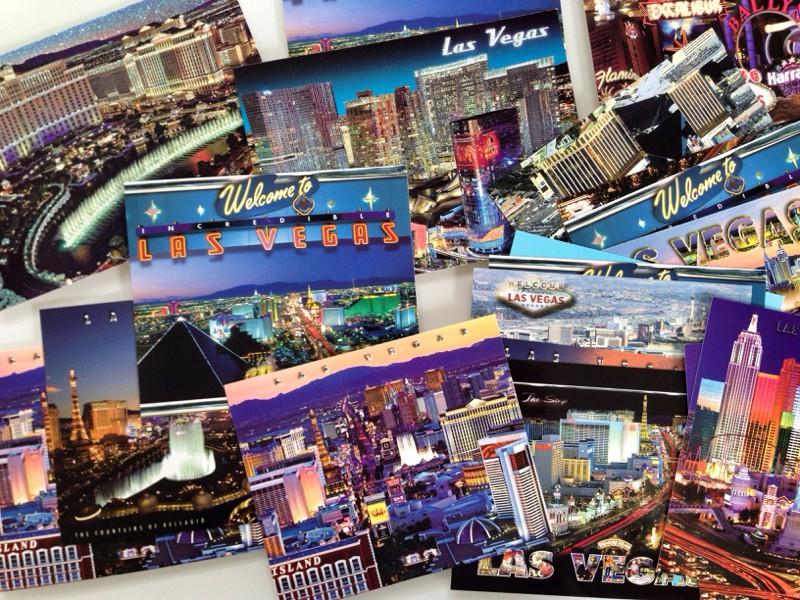 Открытки: Лас Вегас