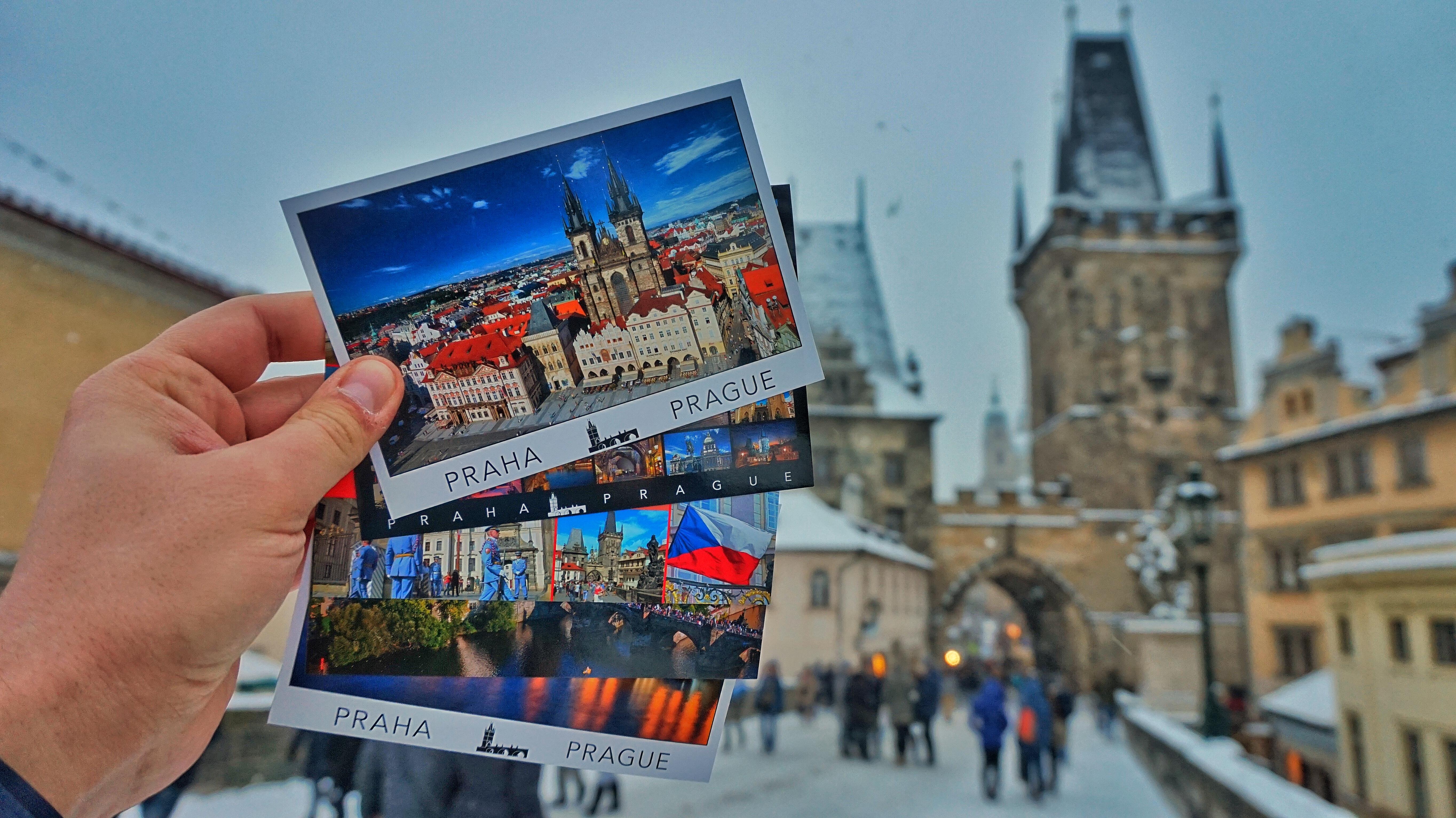 Открытки: Прага