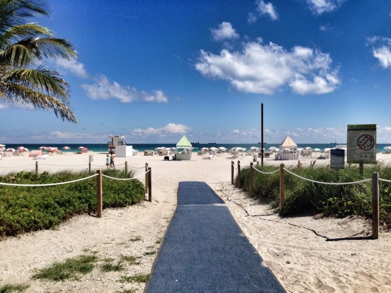Пляжи в Майами-Бич