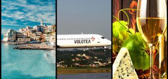 Распродажа Volotea: перелеты по Европе за 1€ (только для членов клуба)