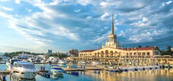 Билеты Utair из Москвы в Сочи за 3770 руб. туда-обратно (март-апрель)