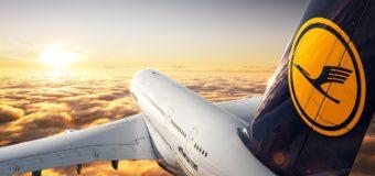 Промокод Lufthansa на скидку 1500 рублей с 14 по 18 февраля