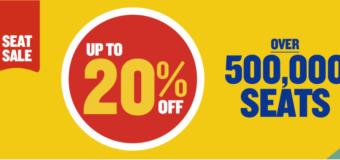Распродажа от Ryanair — 500 тыс. авиабилетов со скидкой до 20%!