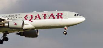 Qatar Airways: скидки до 30% по промокоду при оплате картой Visa