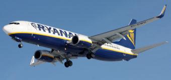 Распродажа билетов от 1100 руб. (15 евро) по Европе на осень от Ryanair
