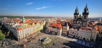 Из Москвы в Прагу за 10000 руб. туда-обратно до апреля 2019 г.