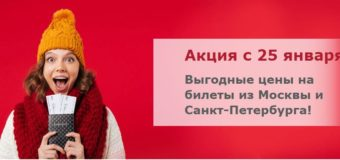Распродажа Red Wings: перелеты по России и в Сербию из Петербурга и Москвы от 1999 руб. туда-обратно