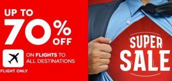 Распродажа AirAsia: скидки до 70% на все направления до следующего лета!
